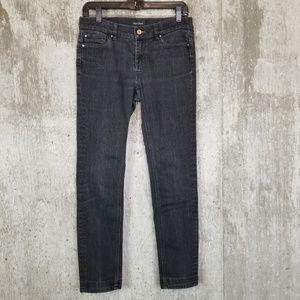 White House Black Market ✦ Black Noir Slim Jean 4